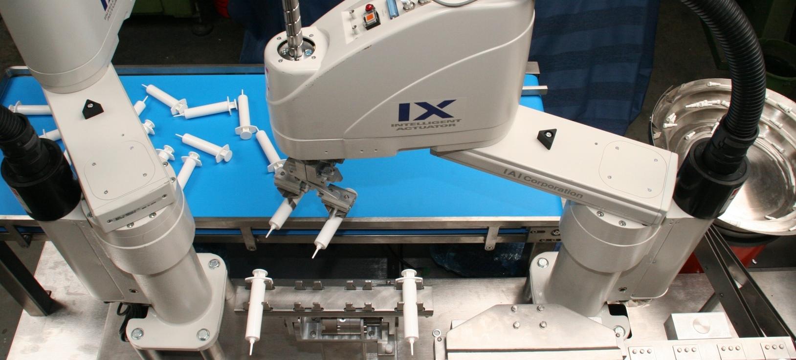 robotic filling machine