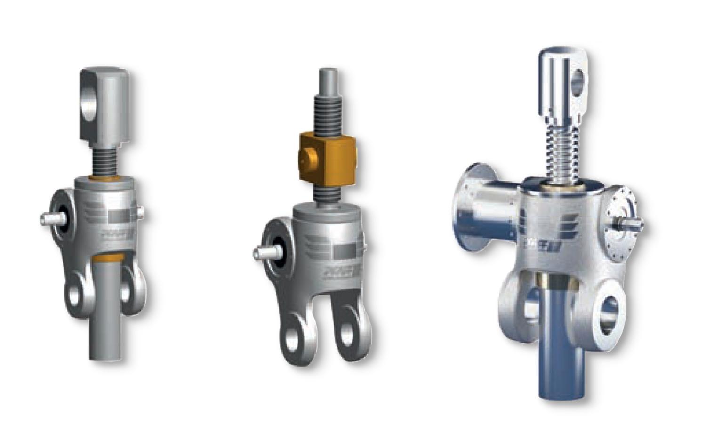 Stainless steel worm gear screw jack – Pfaff SSP - ATB
