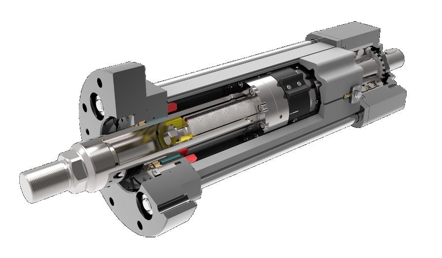 Exlar Ftp High Capacity Persactuators Met Roller Screw