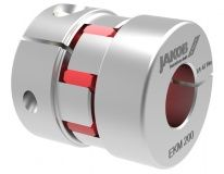 Jakob EKM elastomer coupling with elastomer spider with radial clamping hub