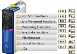 Safety technology SD6 drive