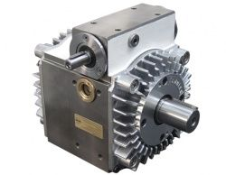 Tandler PD2 double-planetary speed modulation gearbox