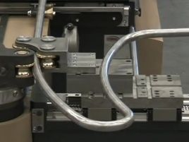 Bending machine with Stöber servo drives