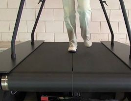 belt treadmill with Exlar actuator