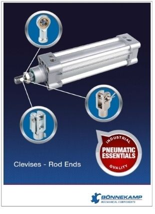 Bonnekamp Pneumatic essentials Clevises - Rod Ends