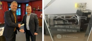 Exlar Distribution Meeting Award