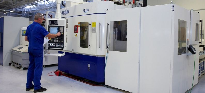 The new machines and over 40 CNC machines have been transferred to the new plant