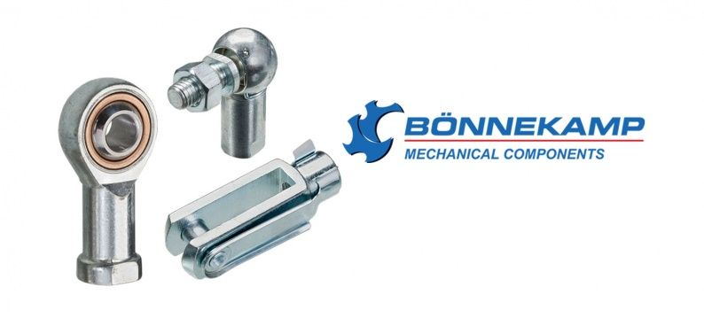 New Bonnekamp clevises - rod ends - ball joints