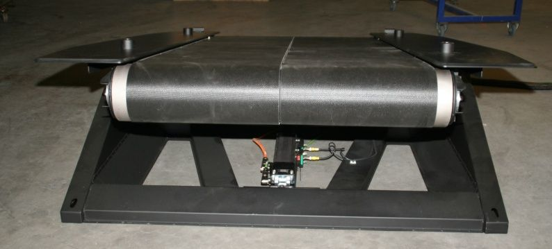 2 Slider belt treadmill with Exlar