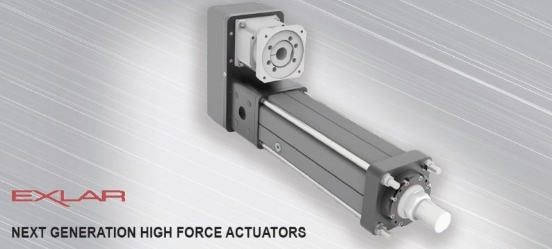 EXLAR FTX New high capacity actuator