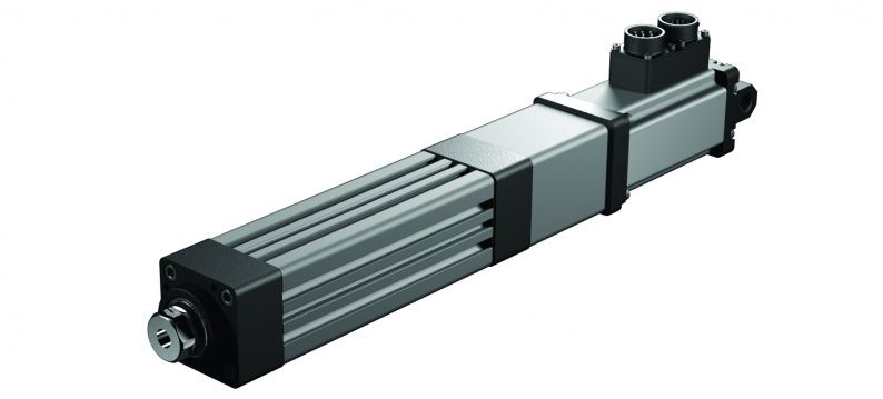 Exlar K linear roller screw actuator in line