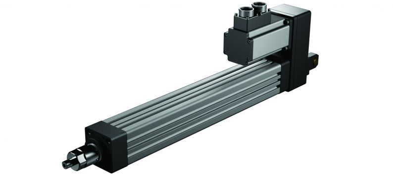 Exlar K linear roller screw actuator parallel mounting