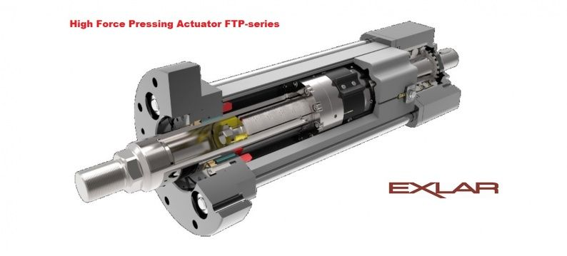 Exlar FTP Press Actuator voor persapplicaties 1