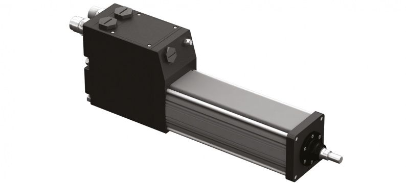 Exlar Tritex II AC and DC servoactuator 75mm frame