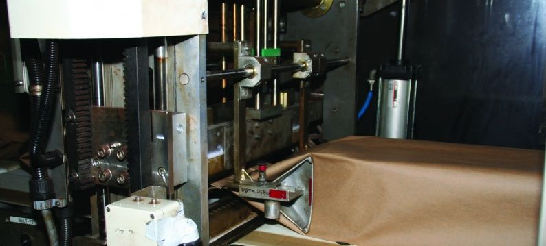 Fuji foil packaging machine with retrofit Stober servo drives