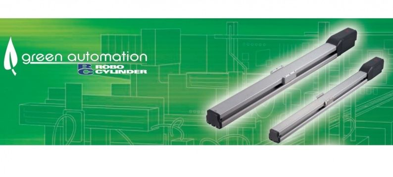IAI ERC3-S linear actuator with slider and built-in controller
