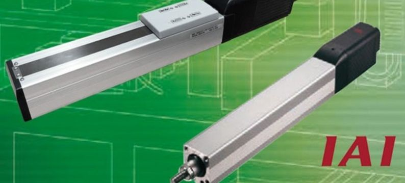 IAI ERC3-Serie linear actuators with built-in controller