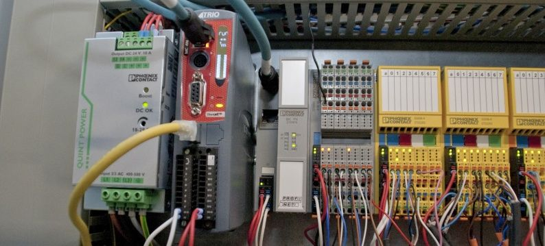 Trio MC4N motion controller met EtherCAT