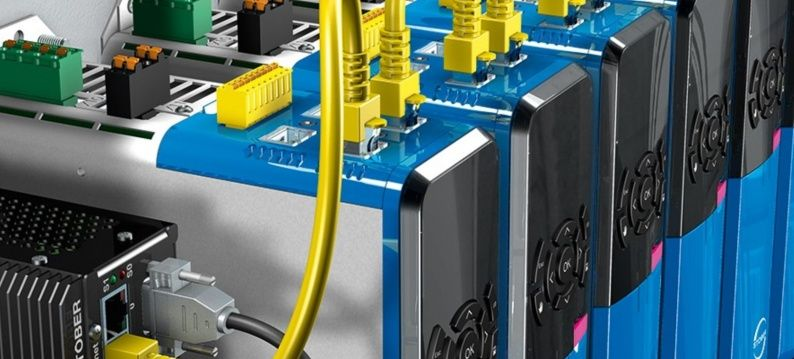 Stober drives met EtherCAT